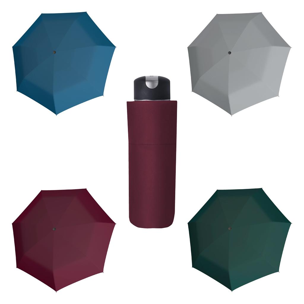 Doppler Mini XS Carbonsteel UNI 26 - dámský skládací deštník modrá