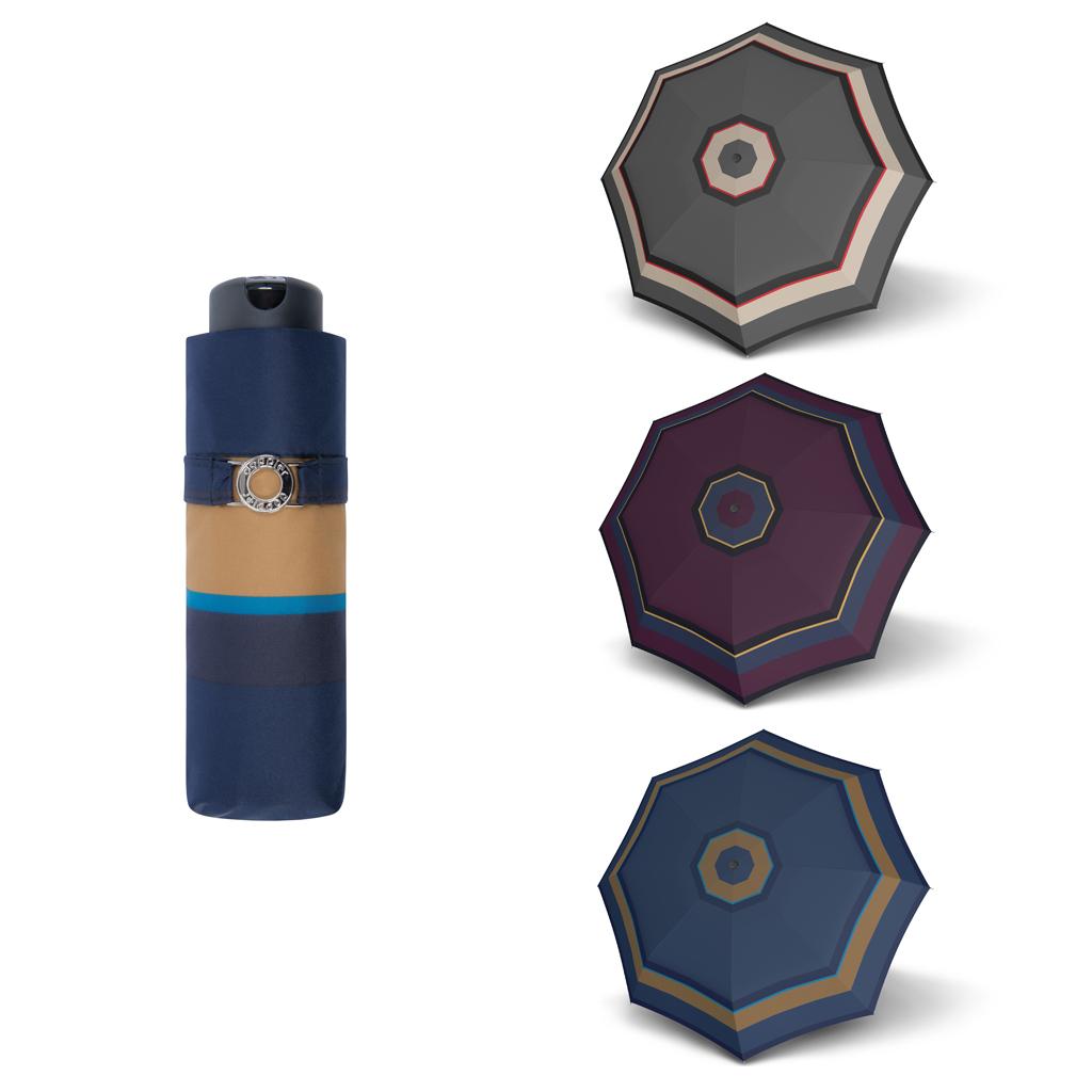 Doppler Mini XS Carbonsteel LONDON - dámský skládací deštník modrá