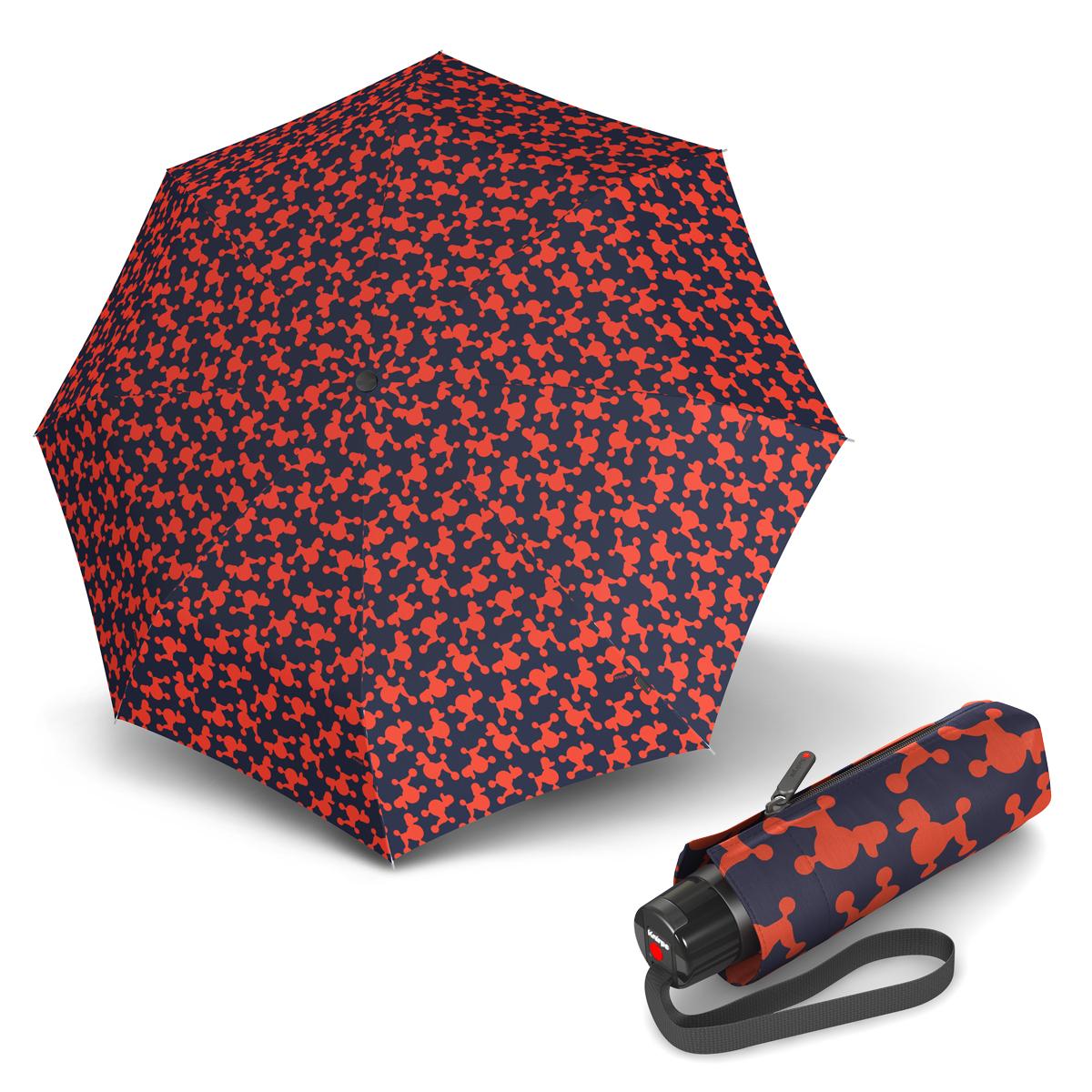 Knirps T.010 Small Manual Audrey Pumpkin - dámský skládací mini deštník