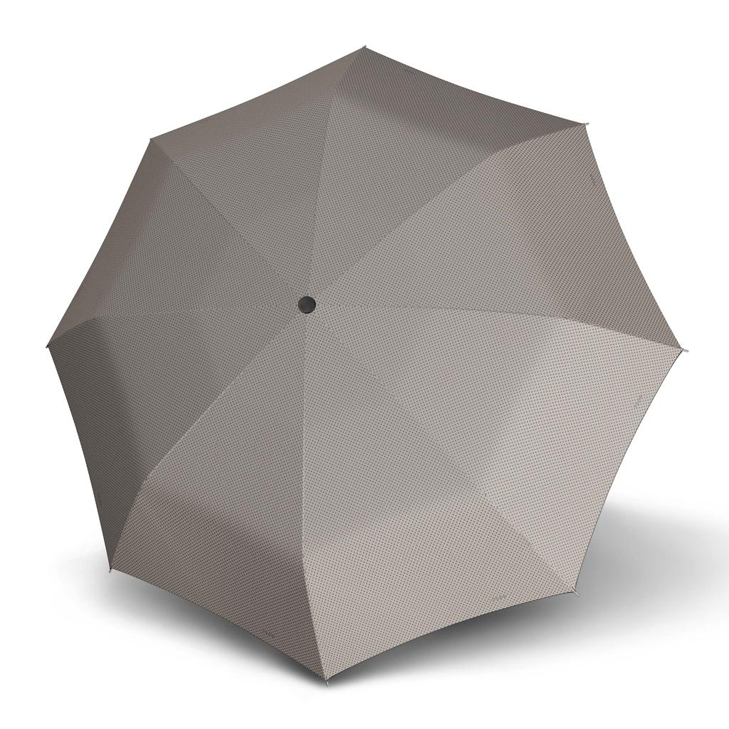 Doppler Mini Slim Carbonsteel CHIC - dámský plochý skládací deštník béžová