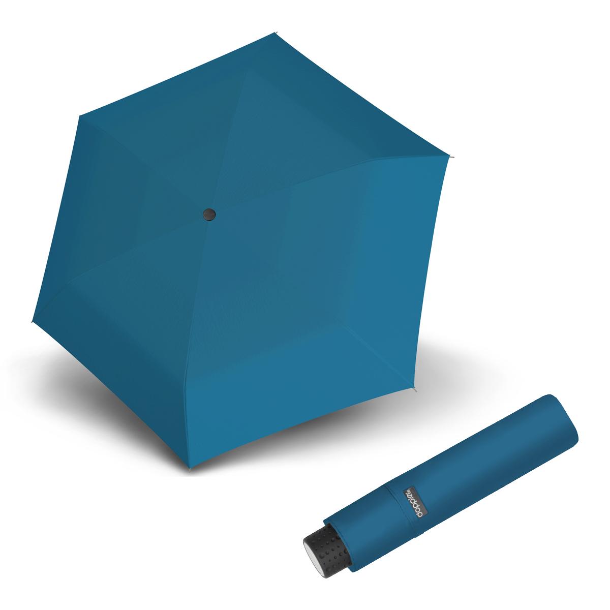 Doppler Havanna Fiber UNI 26 - dámský ultralehký mini deštník modrá
