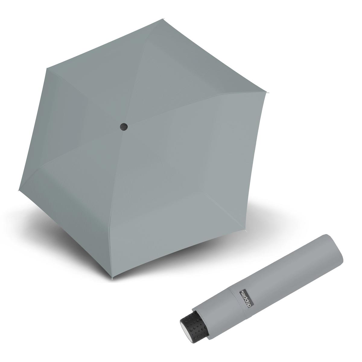 Doppler Havanna Fiber UNI 26 - dámský ultralehký mini deštník šedá