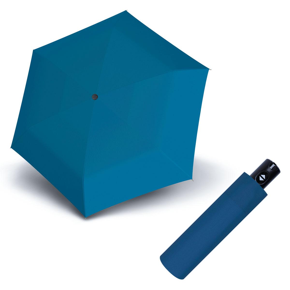 Doppler Magic XS Carbonsteel 26 - dámský plně-automatický deštník modrá