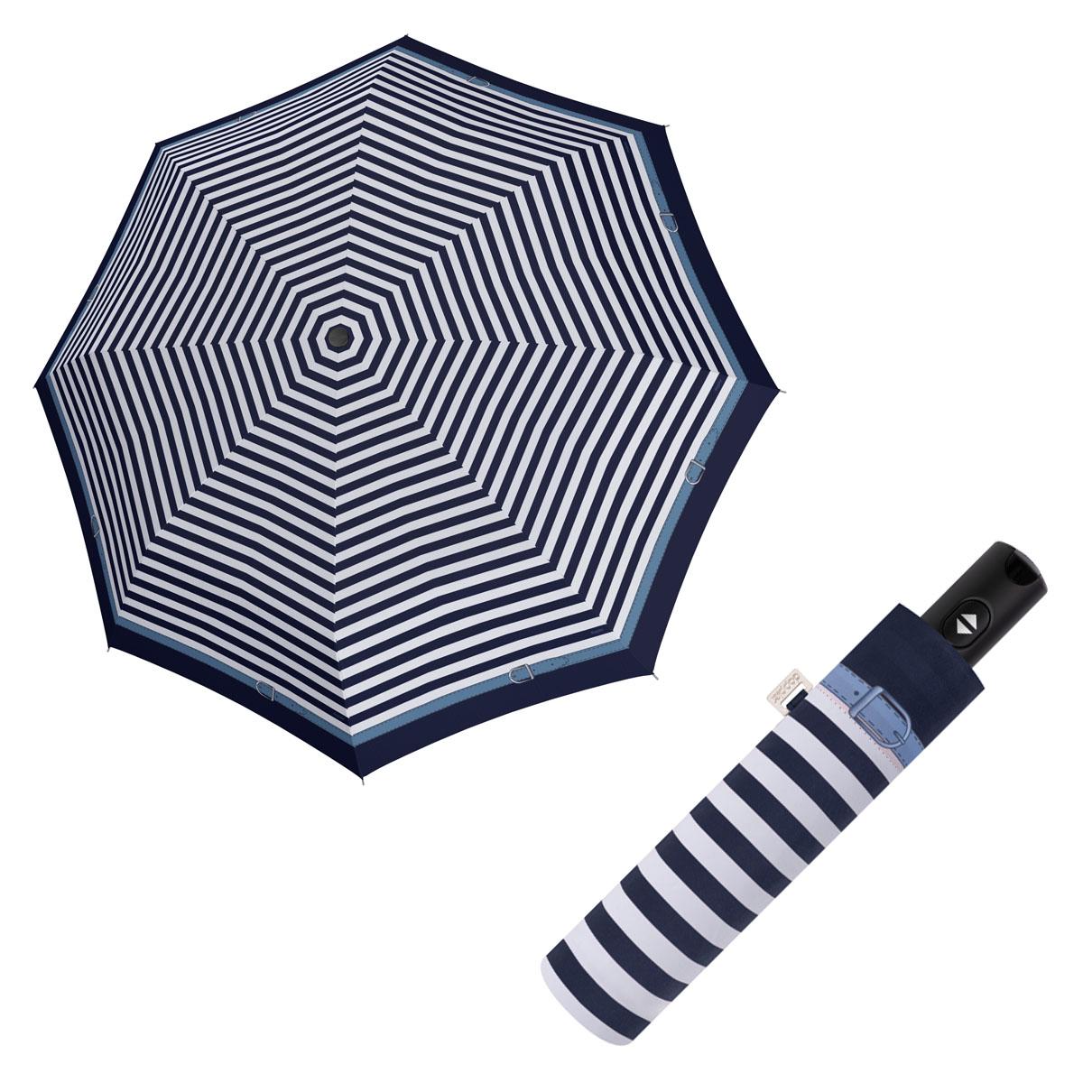Doppler Magic Carbonsteel DELIGHT - dámský plně-automatický deštník modrá