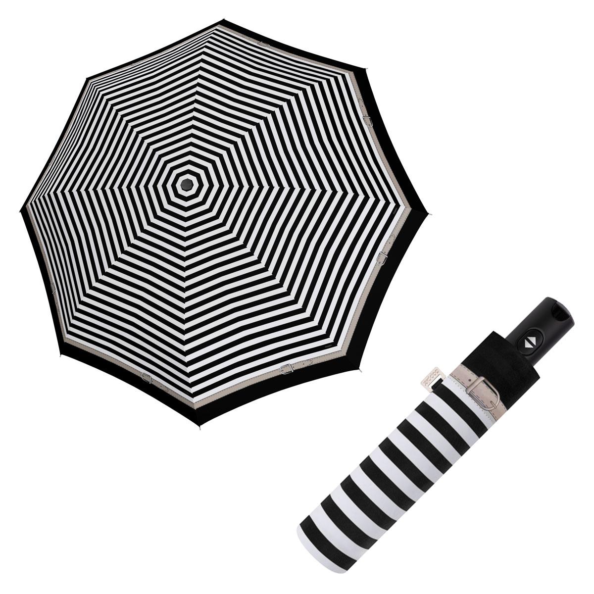 Doppler Magic Carbonsteel DELIGHT - dámský plně-automatický deštník černá