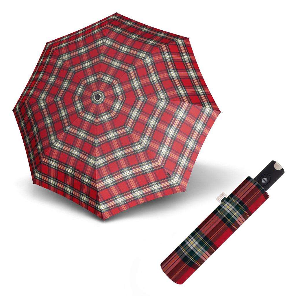 Doppler Magic Carbonsteel káro - dámský plně-automatický deštník vzor 1