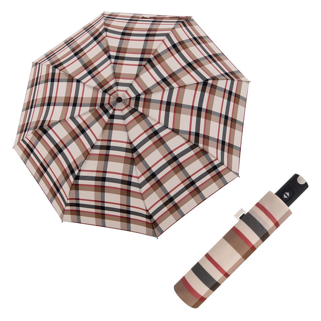Doppler Magic Carbonsteel káro - dámský plně-automatický deštník vzor 2