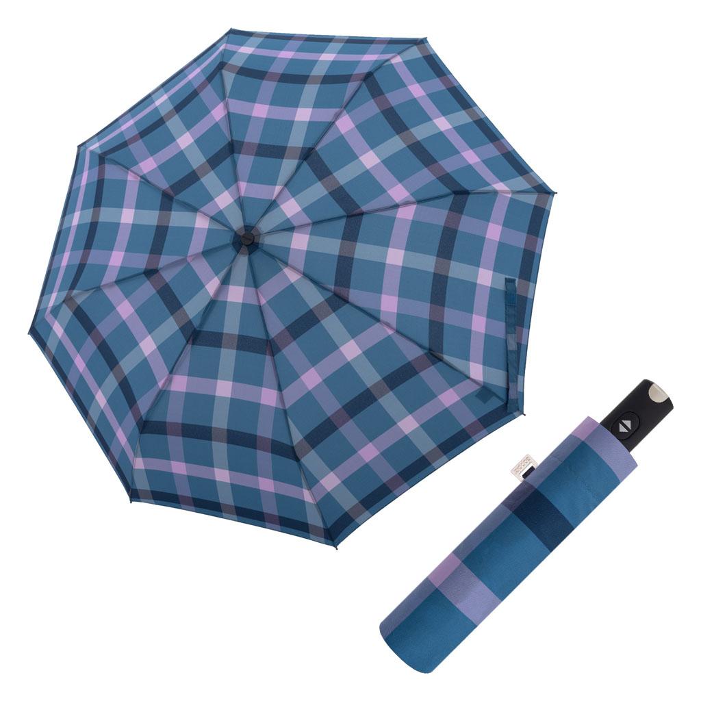 Doppler Magic Carbonsteel káro - dámský plně-automatický deštník vzor 5