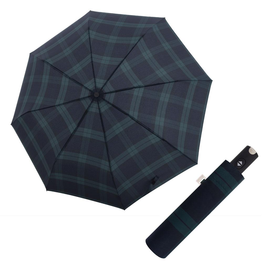 Doppler Magic Carbonsteel káro - dámský plně-automatický deštník vzor 6