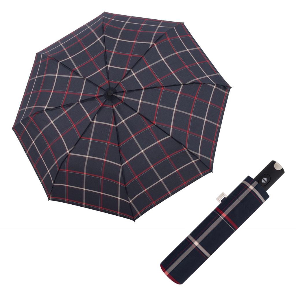 Doppler Magic Carbonsteel káro - dámský plně-automatický deštník vzor 15