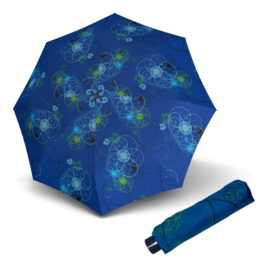 Doppler Mini Fiber BARCELONA - dámský skládací mechanický deštník modrá