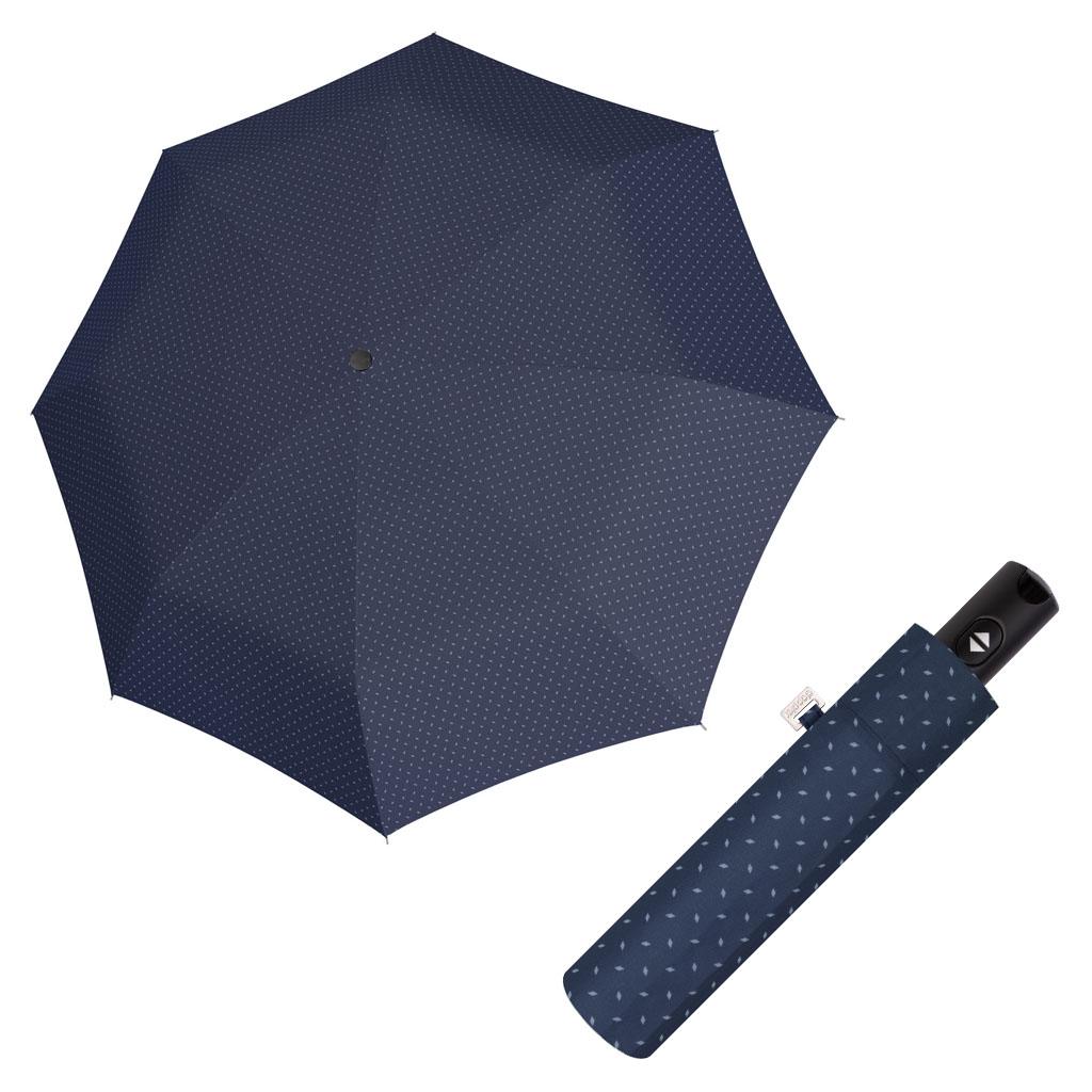 Doppler Magic Carbonsteel ROYAL - dámský skládací plně-automatický deštník modrá