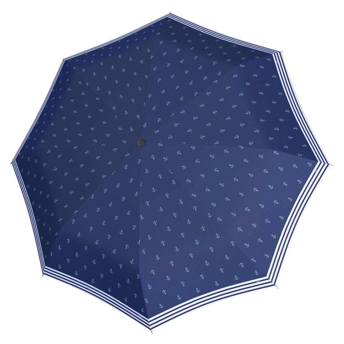 Doppler Mini Fiber SAILOR - dámský skládací mechanický deštník tmavě modrá