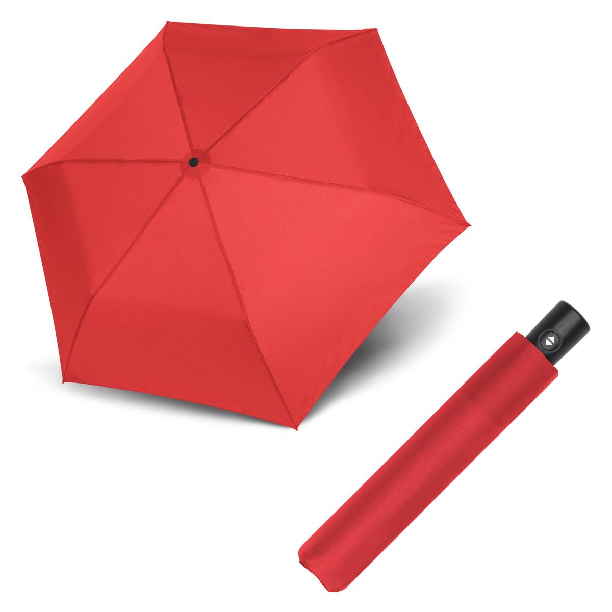 Doppler Zero Magic - dámský plně-automatický deštník červená