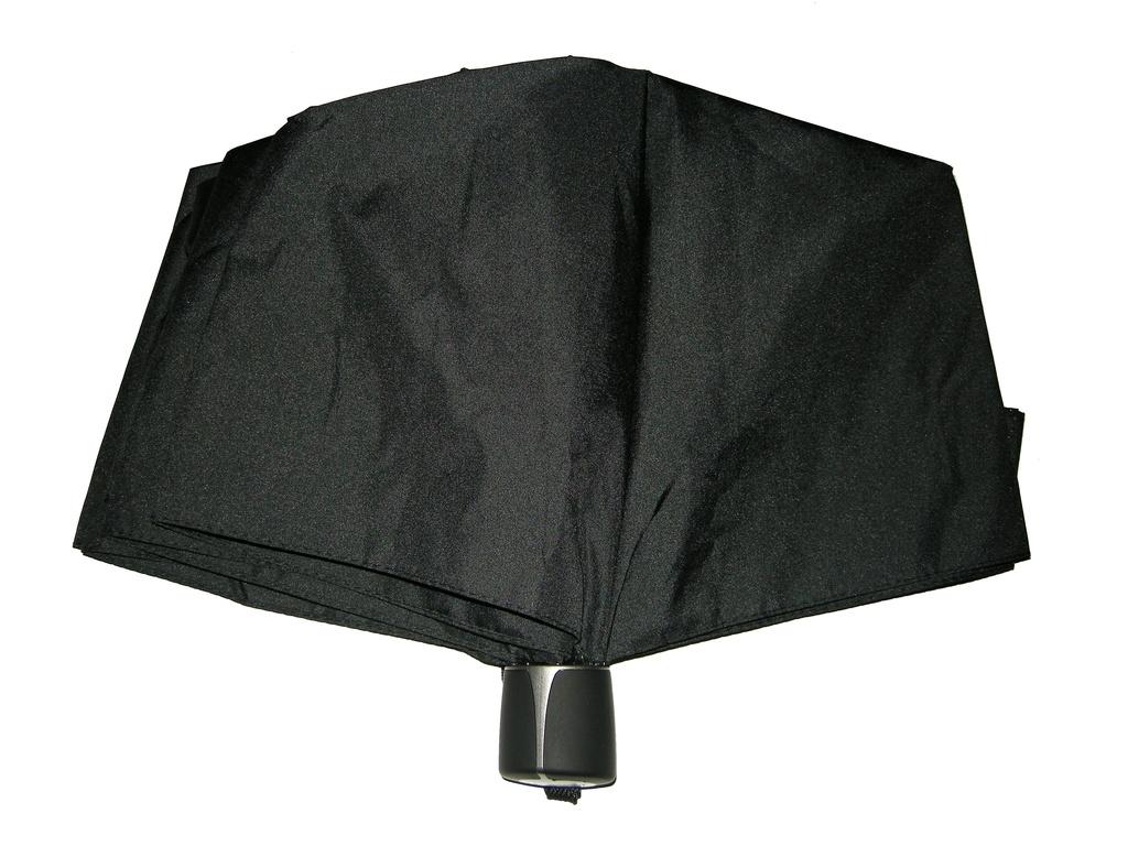 Mini Fiber Doppler - pánský skládací deštník černá