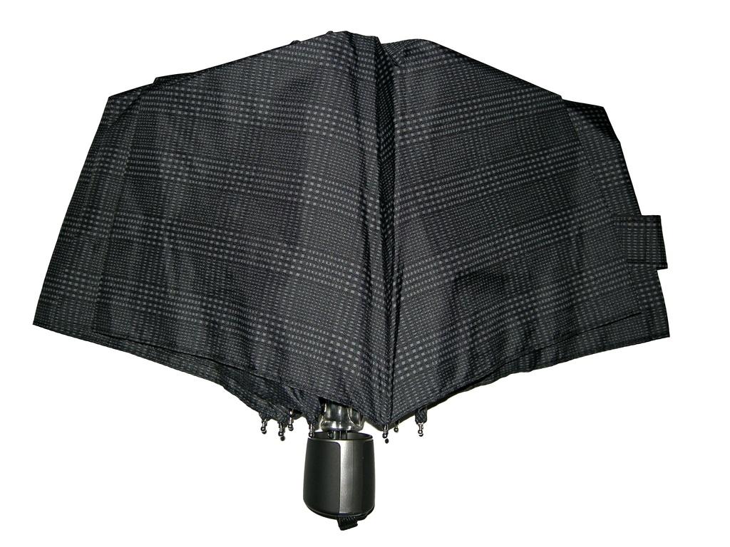 Mini Fiber Doppler - pánský skládací deštník káro