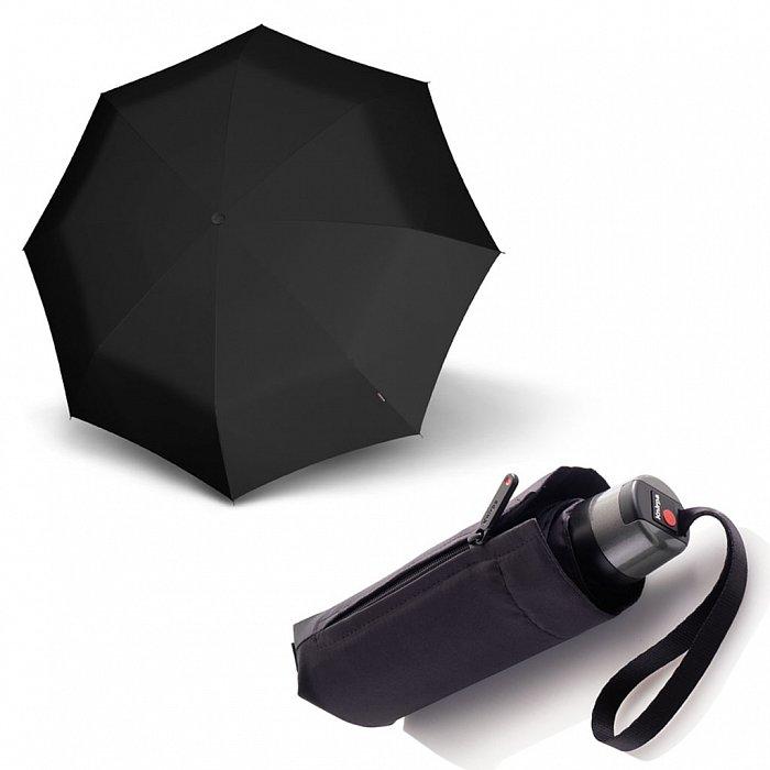 1ef774c969b Dámský skládací mechanický deštník T.010 Small Manual Knirps černý ...